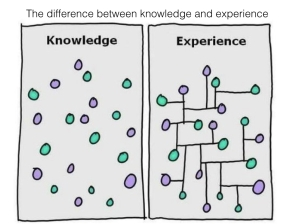 Knowledge vs experiencev1.001